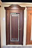 Межкомнатные двери из массива ясеня и массивным порталом, фото 6
