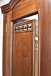 Межкомнатные двери из массива ясеня и массивным порталом, фото 5