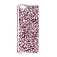 Чехол-накладка Cиликон Diamond Shining для iPhone 6 Plus/6S Plus Розовый