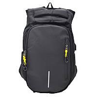 Городской рюкзак с USB-портом Sky-Bow 1010-1 черный