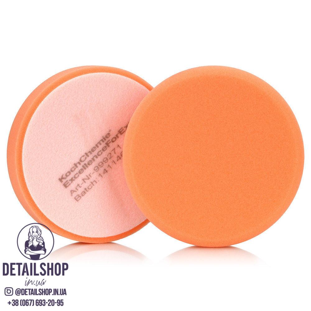 KOCH CHEMIE Antihologrammschwamm orange, gewaffelt Анти-голограмнный круг Ø 135 x 30 mm (рефленный)