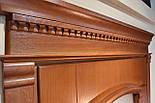 Межкомнатные двери со стеклом и контурным витражом, фото 5
