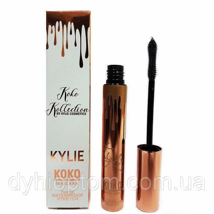 Тушь для ресниц водостойкая Kylie Koko Mascara Thick Waterproof Stretch (силиконовая кисть)