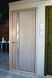 Глухие белые межкомнатные двери с зеркалом, фото 3