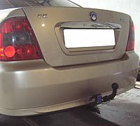 Прицепное устройство (Фаркоп) со сьемным крюком GEELY CK-1,CK-2 седан 2005+ г.в.