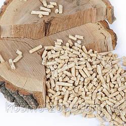 Древесный гранулированный наполнитель Кис-Кис 15 кг