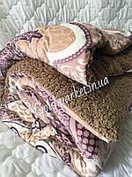 Одеяло-Покрывало Флис Мех двухстороннее 200*215см. 815 грн