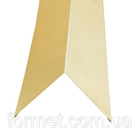 Угол наружный  59*59*2000 полимер (бежевый) Украина, фото 2