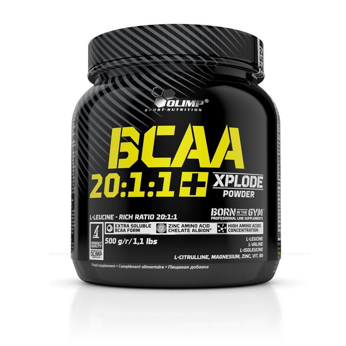 БЦАА Olimp BCAA 20:1:1 Xplode (500 г) олимп иксплод fruit punch