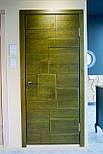 Межкомнатные двери в лофт стиле с вставками из дуба, фото 3