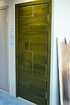 Межкомнатные двери в лофт стиле с вставками из дуба, фото 6
