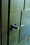 Межкомнатные двери в лофт стиле с вставками из дуба, фото 7