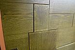 Межкомнатные двери в лофт стиле с вставками из дуба, фото 5