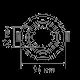 Світлодіодний розумний точковий світильник MAXUS 12Вт Коло, фото 2