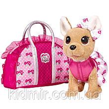Чи Чи Лав Собачка Чихуахуа в сумочке с розами Chi Chi Love Simba 5893346
