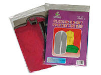 Полиэтиленовые цветные чехлы для одежды 137/60см с молнией