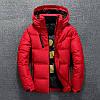 Мужская зимняя куртка пуховик JEEP в наличии! (BRG_02), красный / РАЗМЕР 46-48