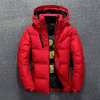 Мужская зимняя куртка пуховик JEEP в наличии! (BRG_02), красный / РАЗМЕР 46-48, фото 1