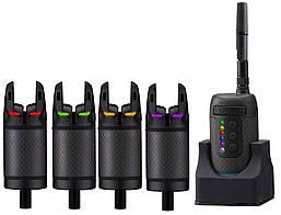 Набор сигнализаторов Prologic K3 Bite Alarm Set 4+1 (Green,Yellow,Red,Blue)