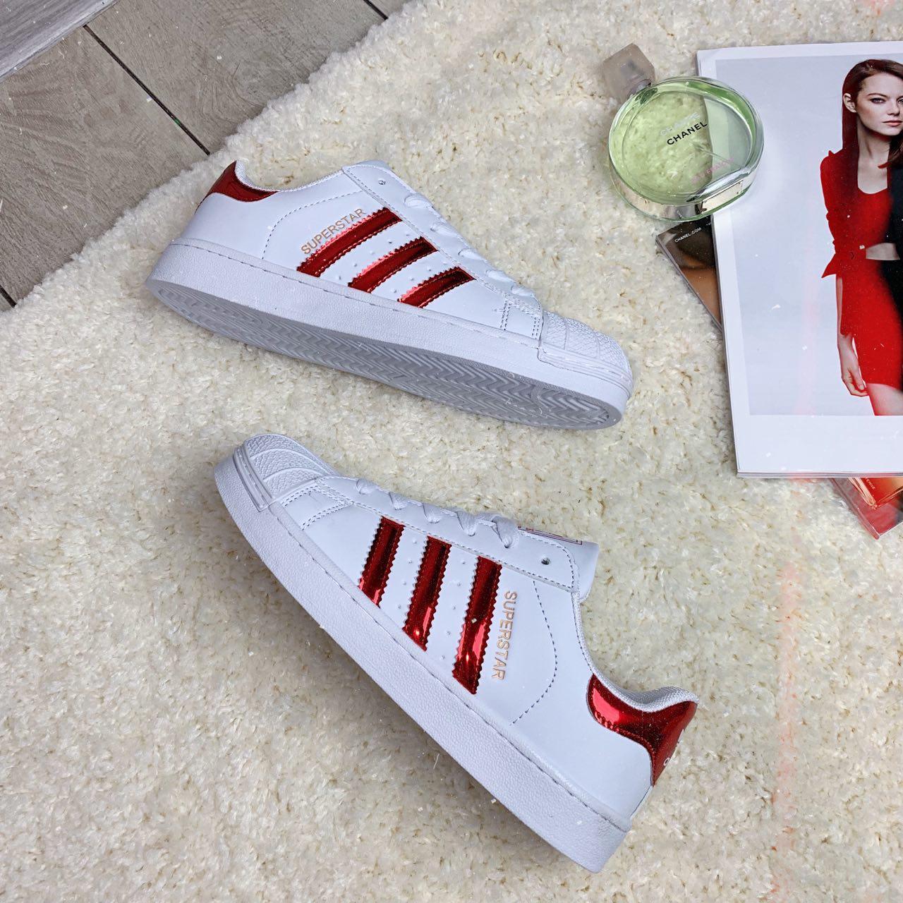 Кроссовки женские Adidas Superstar (реплика) 30016 ⏩ [ 38<<Последний размер>> ]