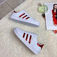 Кроссовки женские Adidas Superstar (реплика) 30016 ⏩ [ 38<<Последний размер>> ], фото 1
