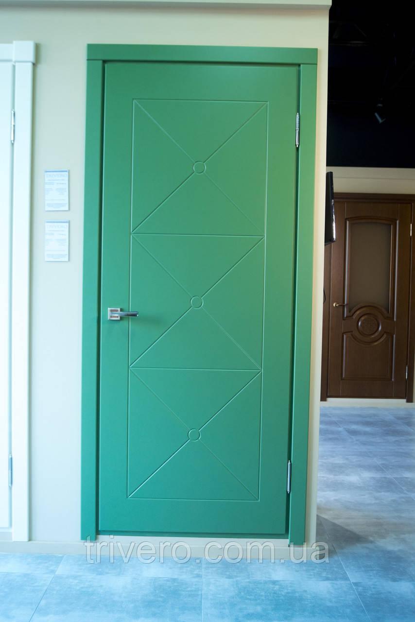 Глухие межкомнатные двери под покраску