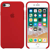 Silicone case for iPhone SE/5/5S/ red