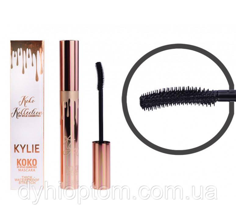 Тушь для ресниц Kylie Koko Collection Mascara Thick Waterproof Stretch (силиконовая кисть)