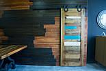 Амбарные двери в стиле лофт на раздвижной системе, фото 2