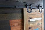 Амбарные двери в стиле лофт на раздвижной системе, фото 4