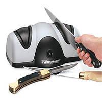 🔥✅ Большая двойная электроточилка для кухонных ножей и ножниц Presto Eversharp Knife Sharpener от сети 220V