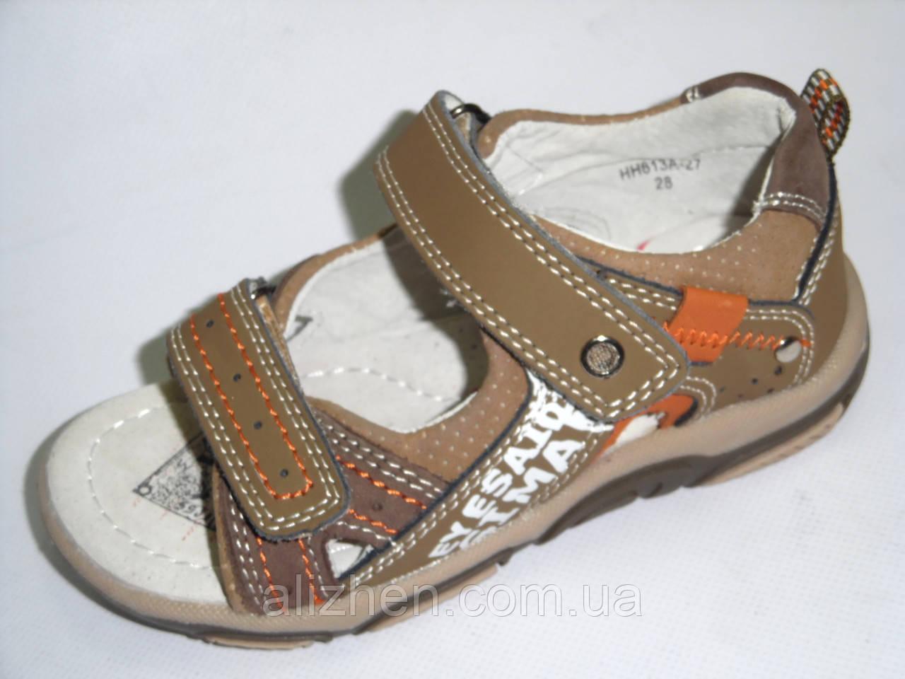 Летние босоножки,сандали для мальчиков  тм B&G 31р