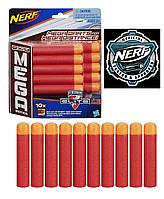 Набор патронов Nerf N-Strike Elite Mega к бластеру Нерф Элит, пули, дротики для Нёрф Мега,10 штук оригинал
