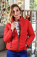 Женская куртка (красная), (весна-осень), фото 1