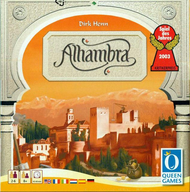 Настольная игра Alhambra (Альгамбра)
