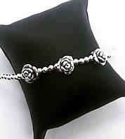 """Браслет из серебра 925 My Jewels """"3 Розы"""""""