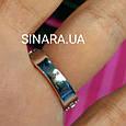 Серебряное кольцо с квадратным фианитом и золотом Грейс - Брендовое кольцо Грейс - Кольцо на помолвку, фото 5