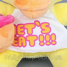 М'яка іграшка П'ять ночей з Фредді, FNaF - Chica Чіка 25см, фото 2