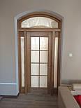 Классически двери арочные из массива дуба, фото 3