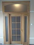 Классически двери арочные из массива дуба, фото 4