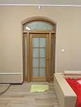 Классически двери арочные из массива дуба, фото 5