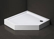 Душевой поддон Dusel D402 пятиугольный, 100х100х13,5 см
