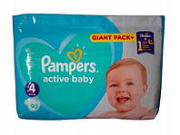 Pampers Active Baby 4 ( 9-14 кг ) 90 шт!