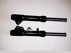 Вилка (амортизаторы, перья) YAMAHA JOG SA-16 (длина 37.5см,шток 26мм) Mototech