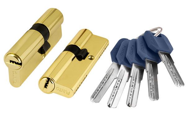 Циліндр ключ-ключ 60 мм (в асортименті)