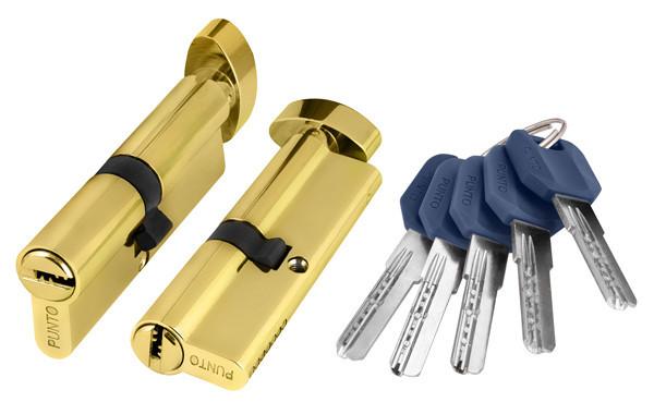 Циліндр PuntoZ402 ключ-WC 60 мм (30*30) (в асотрименті)