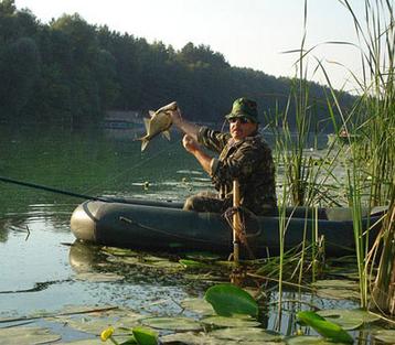 Желание настоящего рыбака - лодка Grif boat
