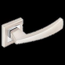Дверні ручки MVM Frio Z-1215 SN/СP матовий нікель/хром