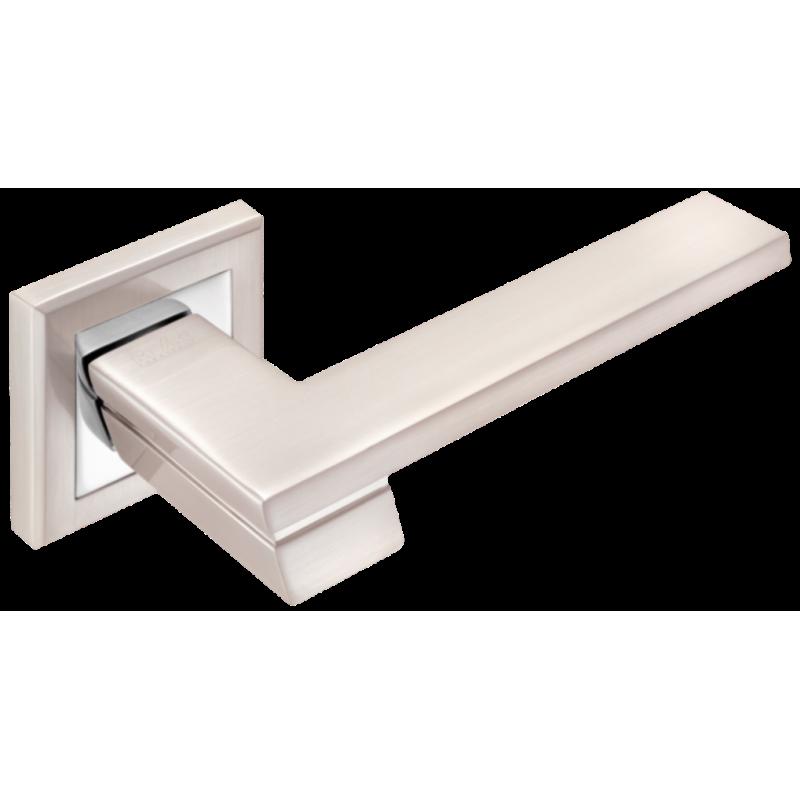 Дверні ручки MVM Z-1324 SN/CP матовий нікель/хром