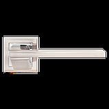 Дверні ручки MVM Z-1324 SN/CP матовий нікель/хром, фото 2